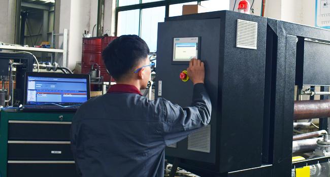 模温机模拟测试